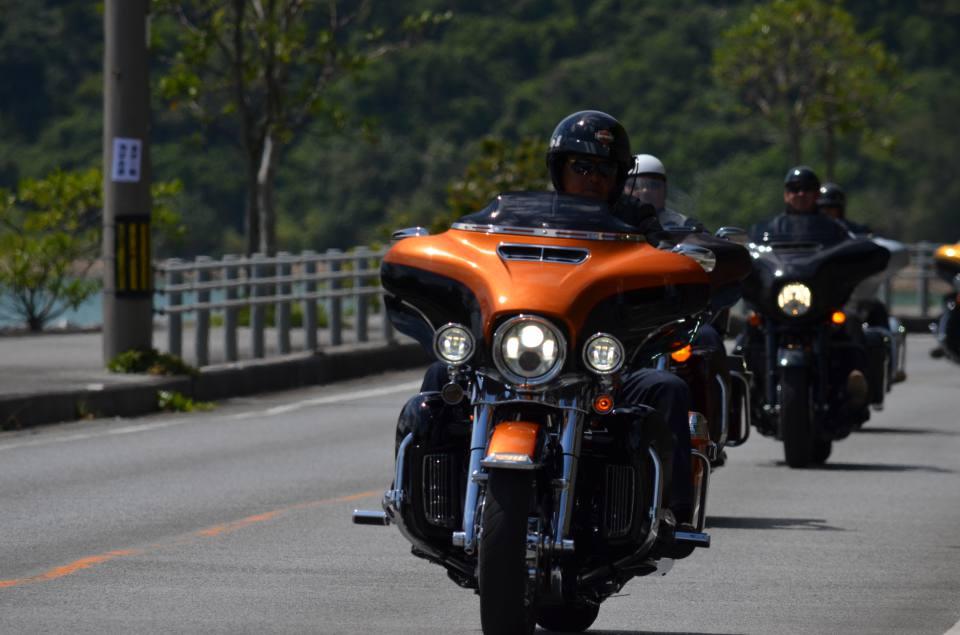 ハーレーダビッドソン沖縄・チャプターツーリング3