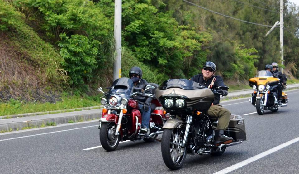 ハーレーダビッドソン沖縄・チャプターツーリング2