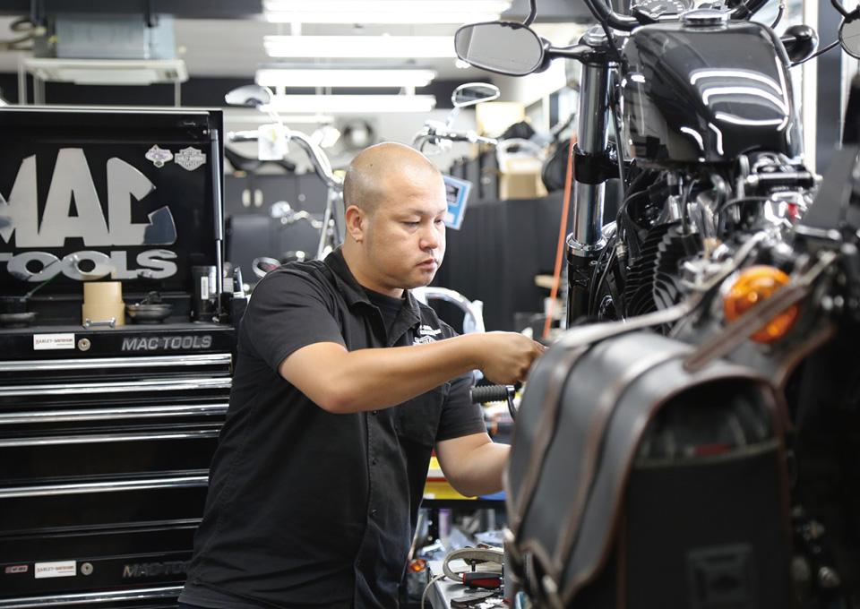 バイクショップ紹介 Harley-Davidson 沖縄2