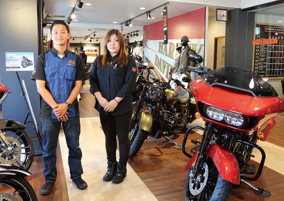 バイクショップ紹介 Harley-Davidson 沖縄5