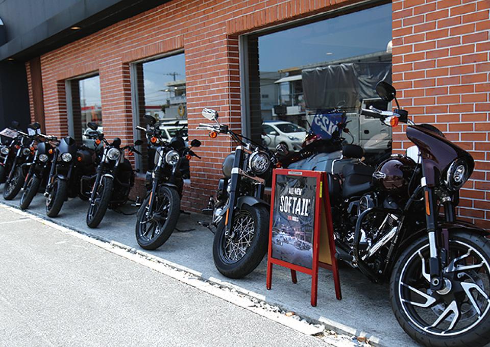バイクショップ紹介 Harley-Davidson 沖縄4
