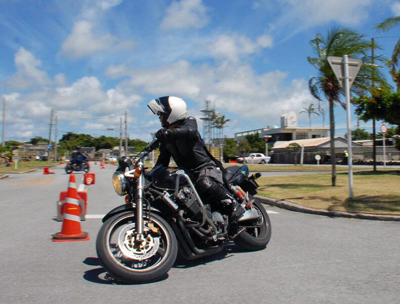 2018年 沖縄バイクジムカーナ 第7戦1