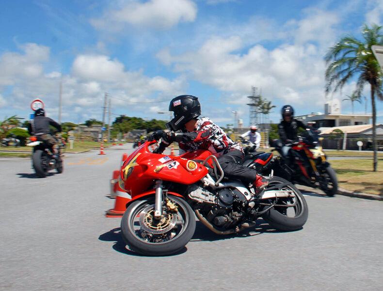 2018年 沖縄バイクジムカーナ 第7戦2