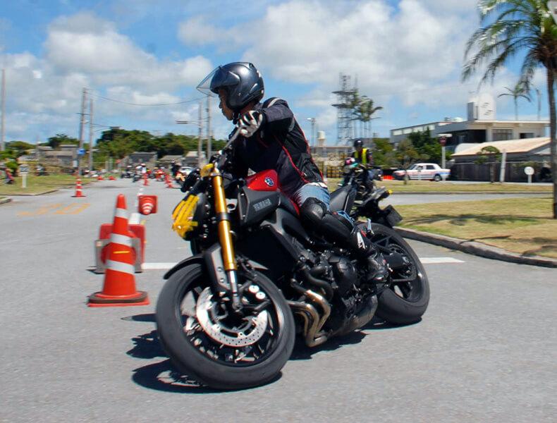 2018年 沖縄バイクジムカーナ 第7戦3