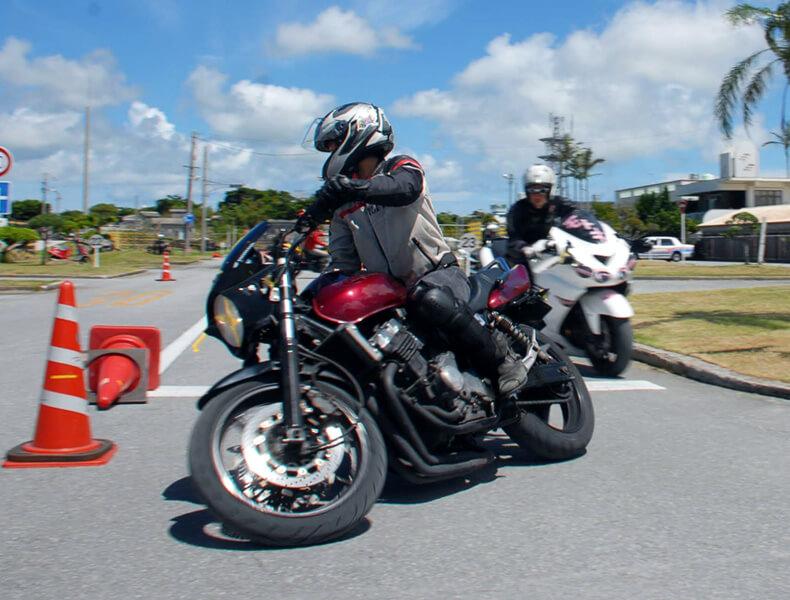 2018年 沖縄バイクジムカーナ 第7戦4