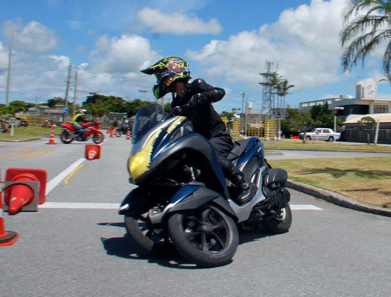 2018年 沖縄バイクジムカーナ 第7戦6