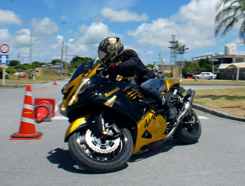 2018年 沖縄バイクジムカーナ 第7戦7