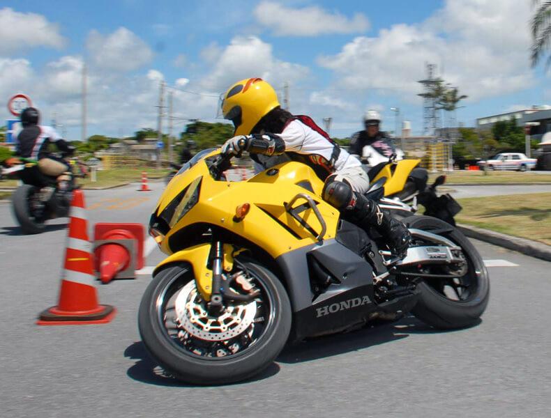 2018年 沖縄バイクジムカーナ 第7戦8