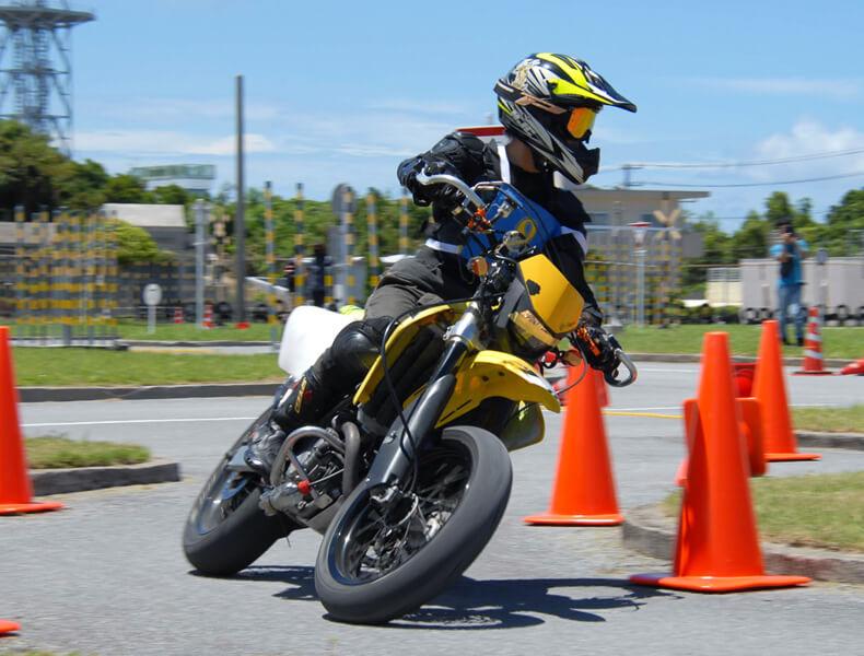 2018年 沖縄バイクジムカーナ 第7戦10