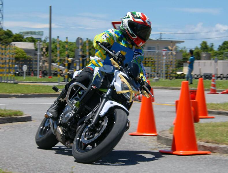2018年 沖縄バイクジムカーナ 第7戦11