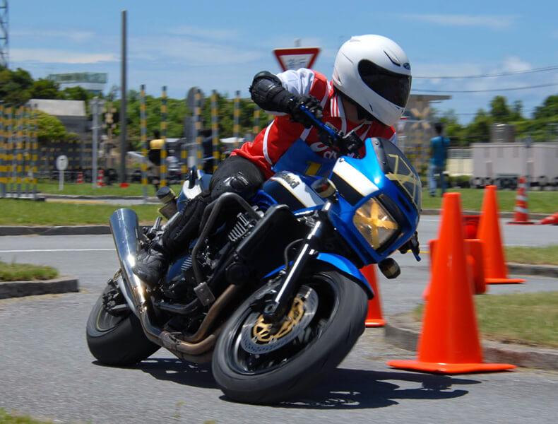 2018年 沖縄バイクジムカーナ 第7戦12
