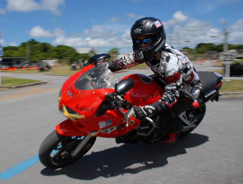 2018年 沖縄バイクジムカーナ 第7戦14