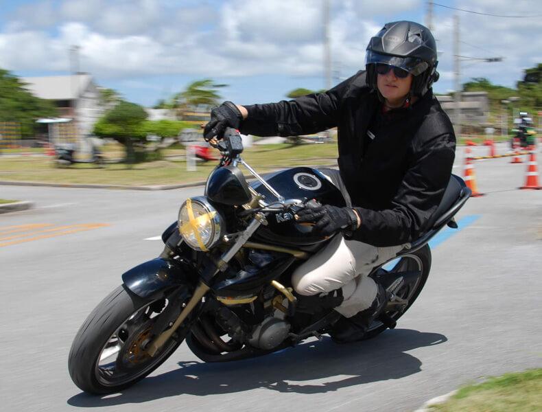 2018年 沖縄バイクジムカーナ 第7戦15