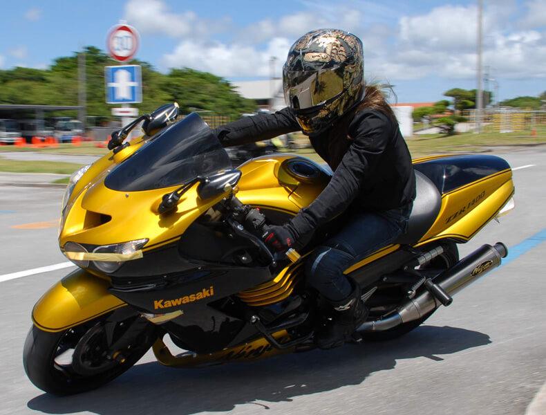 2018年 沖縄バイクジムカーナ 第7戦16