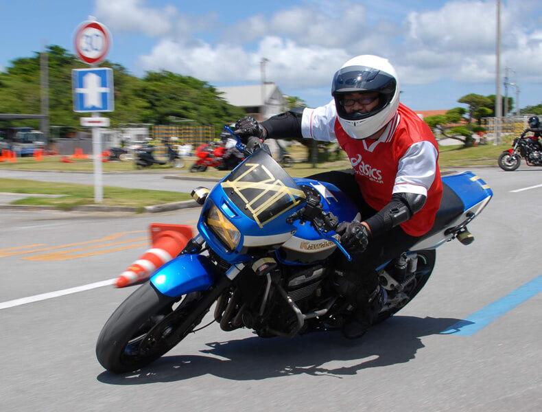 2018年 沖縄バイクジムカーナ 第7戦17