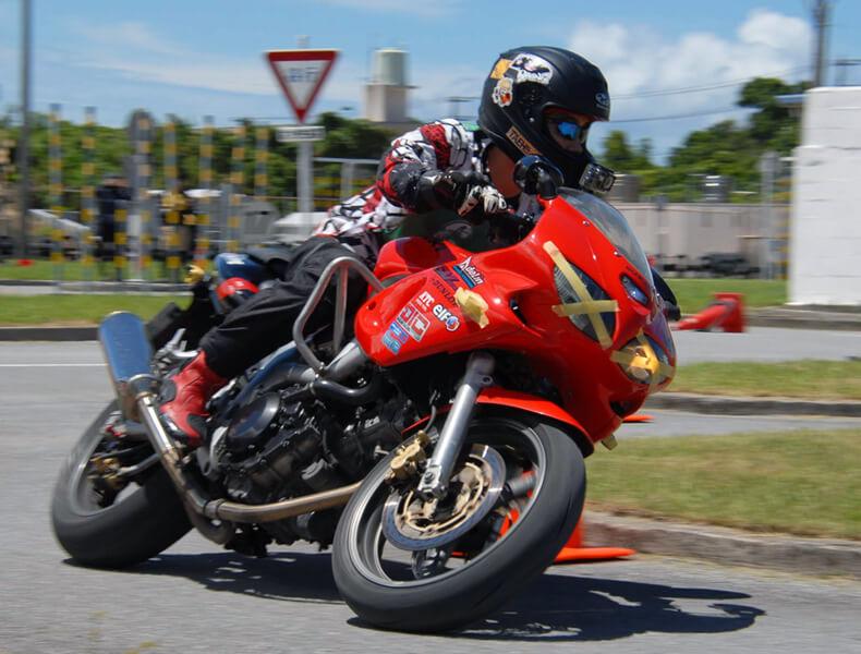 2018年 沖縄バイクジムカーナ 第7戦19