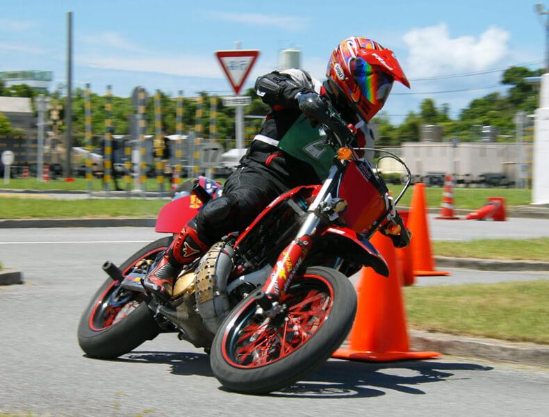 2018年 沖縄バイクジムカーナ 第7戦21