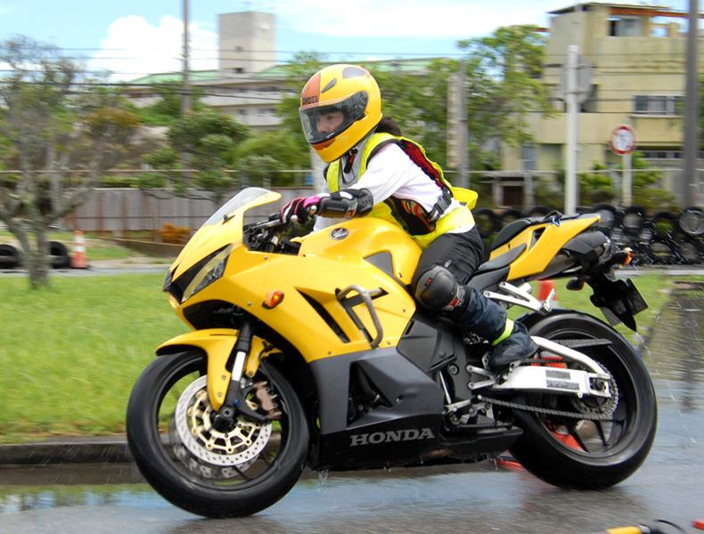 2018年 沖縄バイクジムカーナ 第9戦2