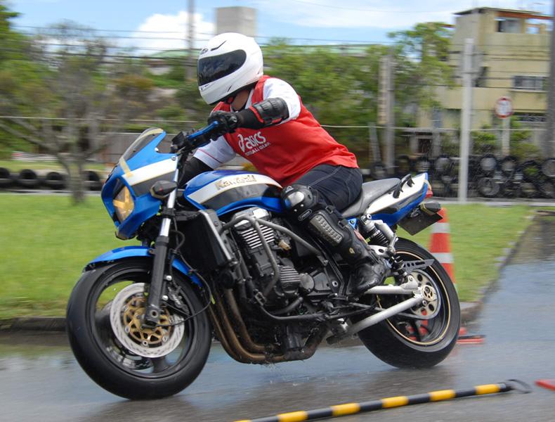 2018年 沖縄バイクジムカーナ 第9戦3