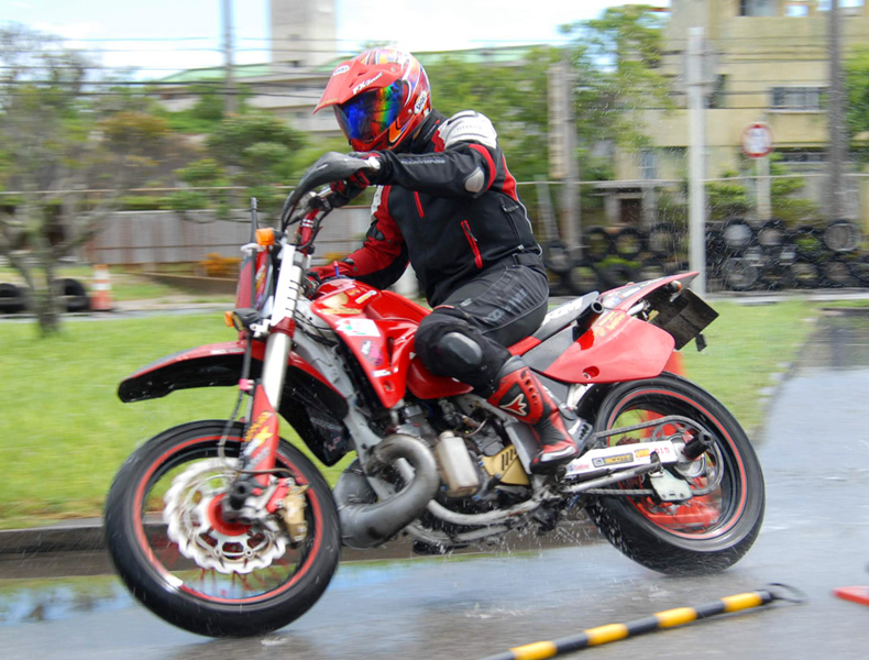 2018年 沖縄バイクジムカーナ 第9戦5